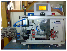 Fully Automatic Cutting & Stripping Machine